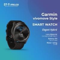 Garmin Vivomove Style / Vivo Move Style Premium - Black Papper