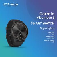 Garmin Vivomove 3 / Vivo Move 3 / Vivomove3 - Black Slate