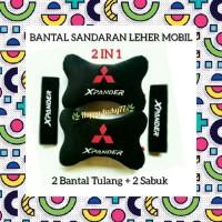 BANTAL SANDARAN LEHER MOBIL (2 IN 1) MITSUBISHI XPANDER
