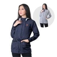 Jaket / Outer Wanita Fashion Biru Navy Despo INF 373
