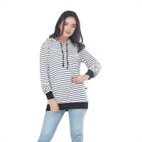 Jaket / Outer Wanita Fashion Putih Spandek INF 444