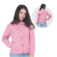 Jaket / Outer Wanita Fashion Pink Jeans INF 254