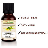 Happy Green ORGANIC Ylang Ylang Essential Oil (10ml) - Ylang Complete