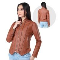 Jaket / Outer Wanita Fashion Tan Viena INF 148