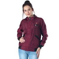 Jaket / Outer Wanita Fashion Merah Marun Mayer INF 265