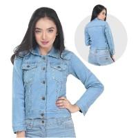 Jaket / Outer Wanita Fashion Biru Jeans INF 238