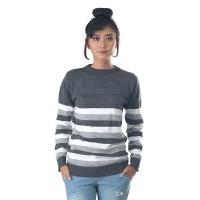 Sweater / Outer Wanita Fashion Abu Rajut INF 280