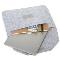 Kaka-felt Tas Cover Macbook Air / Laptop Ukuran 12 / 13 Inch