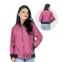 Jaket / Outer Wanita Fashion Pink Despo INF 983