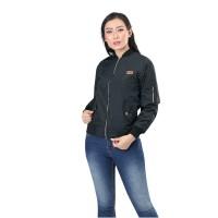 Jaket / Outer Wanita Fashion Hitam Despo INF 112