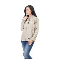 Jaket / Outer Wanita Fashion Cream Micro INF 102
