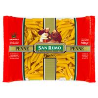 SAN REMO | Pasta Penne / Penne Rigate #18 | 500 gr (Halal ICCV)