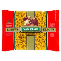 SAN REMO | Pasta Elbows / Ricurvi Rigati #35 | 500 gr (Halal ICCV)