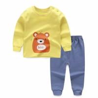 Pakaian anak / motif kartun / import / baju tidur / setelan / 7 tahun