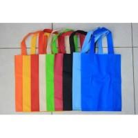Tas Kain Press Goodie Bag Model Tali (38x45x10) - Tas Kain Spunbond