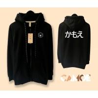 Jaket Camoe Premium Printed Art Japan Zipped Hoodie