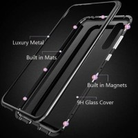 Samsung A6+ A8+ A7 2018 Note 9 S7 Edge - Luxury Magnetic Metal Case