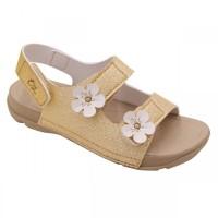 Sepatu Sandal Anak Perempuan Toezone Bali Ch Lt Gold/Glitter - 24