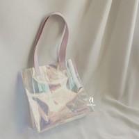 PVC Tote Bag Hologram Custom Nama