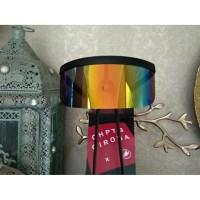 Face Shield Visor Sunglasses Tutup Muka Face Cover warna rainbow