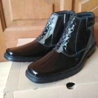 sepatu pdh TNI polri bahan karlit bahan dasar kulit asli