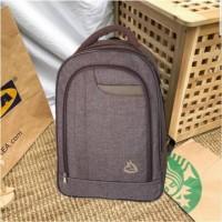 Tas ransel laptop backpack durable punggung gendong kuliah sekolah