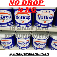 NO DROP Galon 4Kg 4 Kg NoDrop Cat Pelapis Anti Bocor Aquaproof Warna