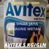 AVITEX Galon 5KG (GOJEK GRAB) Cat Tembok Dinding Interior bkn Catylac