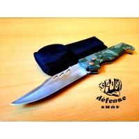 "Pisau Lipat Survival Outdoor Automatic Full Steel ""Self Defense Shop"""