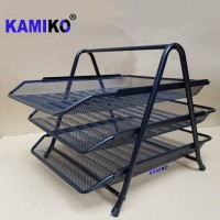 Kamiko Rak Surat Letter Tray Jaring Letter Paper Document Tray susun