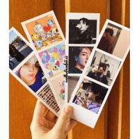 Cetak foto polaroid strip photostrip photobooth photocard instax