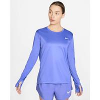 kaos lengan panjang olahraga wanita ungu nike tee shirt women original