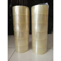 Lakban 100 Yard 45m 1 Dus (72 Roll) My Tape Indonesia