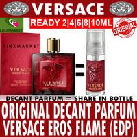 DECANT PARFUM VERSACE EROS FLAME MEN (EDP) SIZE 2ML 4ML 6ML 8ML 10ML
