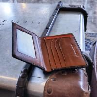 Preghiero Note 2 Slim Wallet Genuine Leather - Hitam