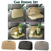 Car Dining Set / Car Seat Organizer/ Car seat Interior