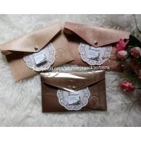 souvenir pernikahan termurah dompet pouch bahan prada