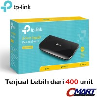 TP-LINK TL-SG1008D : TPLink 8 Port Gigabit Desktop Switch Hub