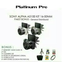 SONY ALPHA A5100 KIT 16-50mm Warna lengkap