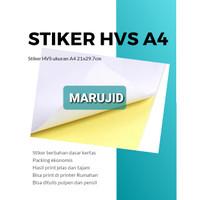 Kertas Stiker HVS A4 High Quality