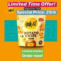 Super Sale!!! Yolk It Salted Egg Potato Chip - Keripik Telor Asin