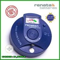Alat Cek Battery Tester Batrei Jam Tangan Renata Swiss Original