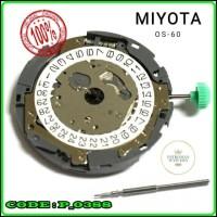 Mesin Jam Tangan Movement Japan Miyota OS-60 Myota OS60 Original