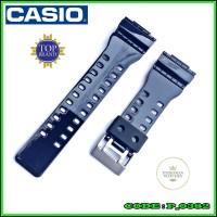Strap Tali Jam Casio G-Shock Ga-100LY-1A Rubber Hitam Mengkilap