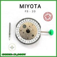 Mesin jam Tangan Movement Japan Miyota Fs20 Miyota Fs 20 Fs20 Original