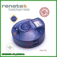 Circular Type Renata Watch Battery Pulse Tester Renata Original Swiss