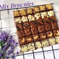 brownies mix 36 potong