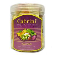 Cabrini Healthy Snacks - Tutti Frutti ( 500 ml ) Keripik Buah Premium