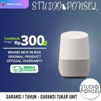 Google Home Voice Activated WIFI Smart Speaker White ( Bukan Homepod )