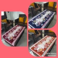 Taplak Meja Panjang Batik Coletan Ronce